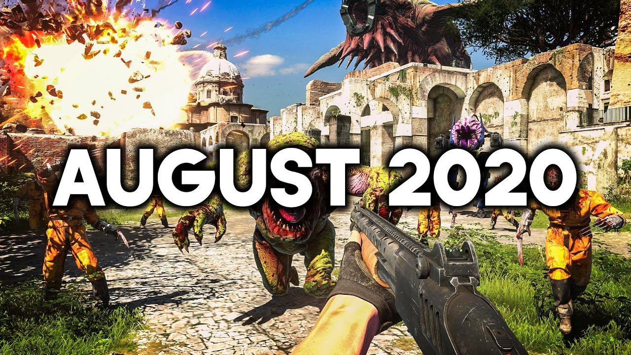 TOP 12 Upcoming Games of August 2020