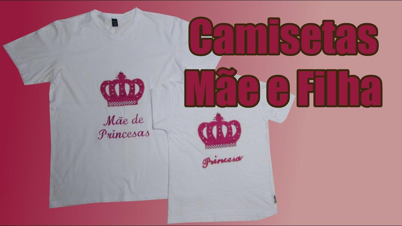 Frases De Mãe Para Filha: Camisetas Personalizadas Mãe E Filha