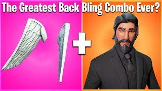 TOP 10 BACK BLING + SKIN COMBOS IN FORTNITE