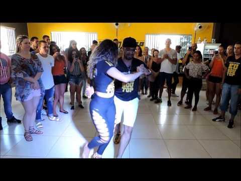 AULÃO - EU SOU TOP VALPARAISO - SAMBA DE GAFIEIRA (KUQUE E MARCELA)