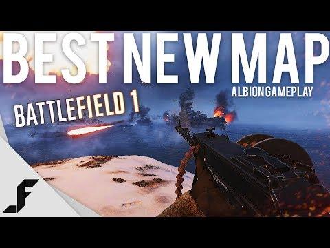 BEST NEW MAP - Battlefield 1 Albion Gameplay