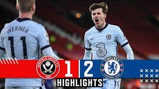 Sheffield United 1-2 Chelsea  Premier League Highlights  Mount  Jorginho goals, Rudiger Own Goal