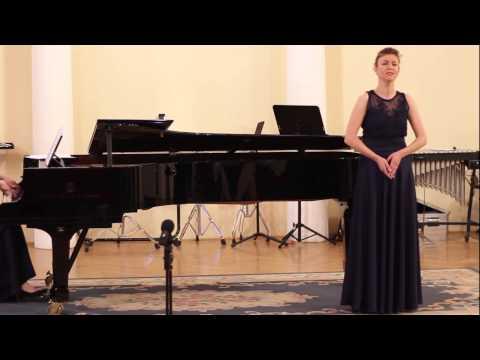 Tina Debevec - sopran | Recital at World Voice Day in Ljubljana