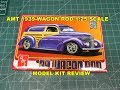 AMT 1939 WAGON ROD 1:25 SCALE MODEL KIT REVIEW AMT1050