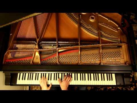 Radiohead - No Surprises (piano)