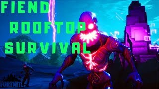 FIEND ROOFTOP SURVIVAL FORTNITE CREATIVE MODE | HARIEXY | mr hollywood | CODE IN DESCRIPTION