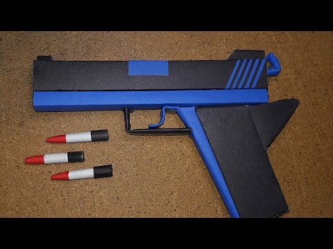 |DIY| How to Make a Paper Defense Gun ...