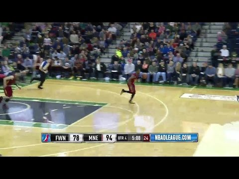 Highlights: Demetrius Jackson (26 points)  vs. the Mad Ants, 1/8/2017