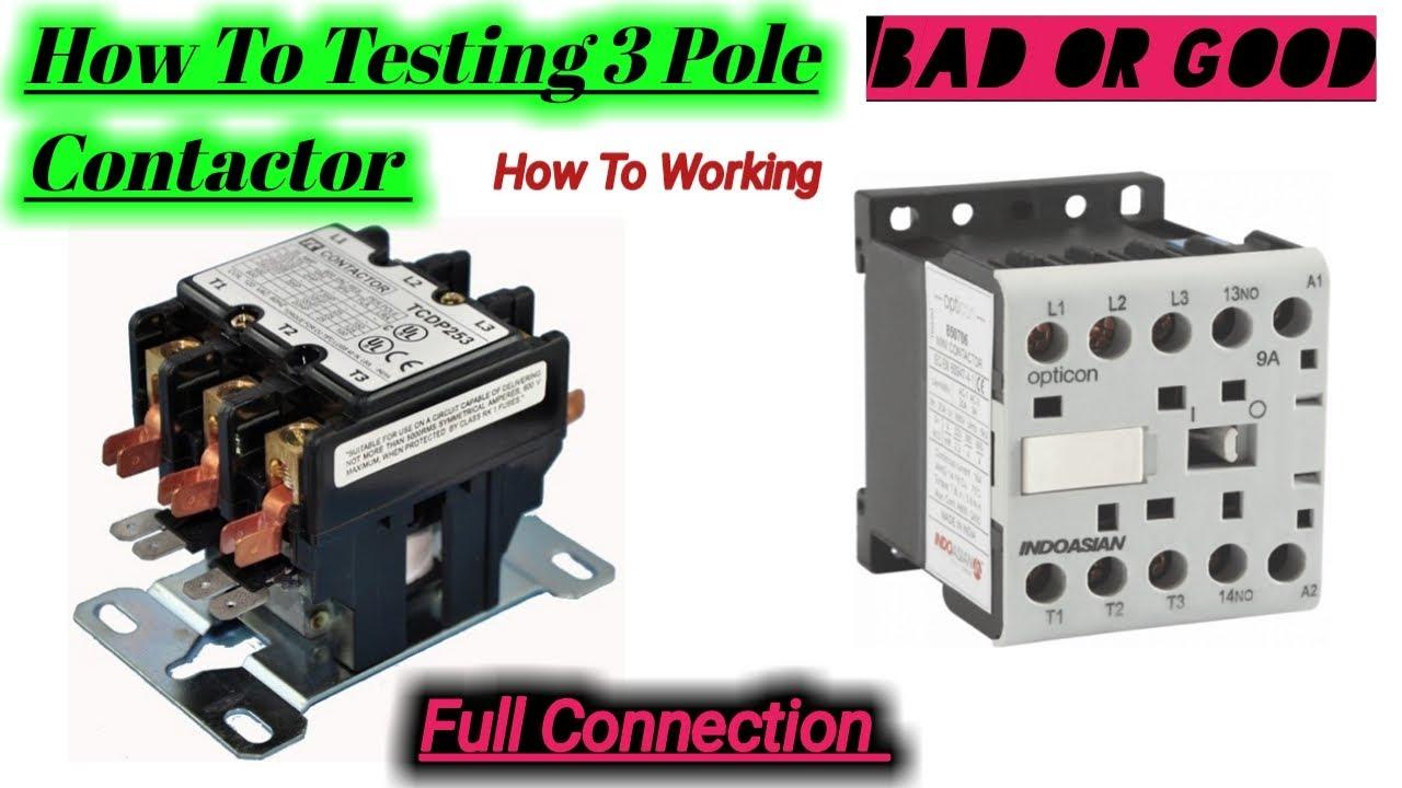 3 Pole Contactor Wiring Diagram