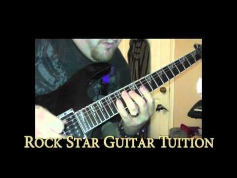 Simon Ellis - Rock Star Guitar Shred Intro Video
