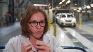 Fabrication des voitures à l'usine PSA de Rennes La Janais