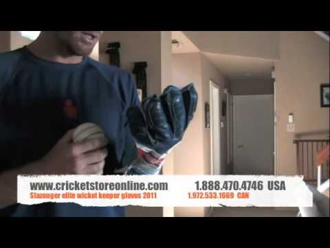 Slazenger Elite Wicket Keeper Gloves 2011