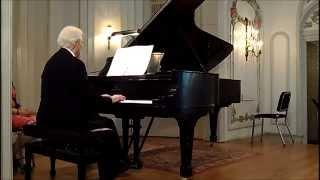 Toccata in c minor BWV911 (Frank Glazer, pianist)