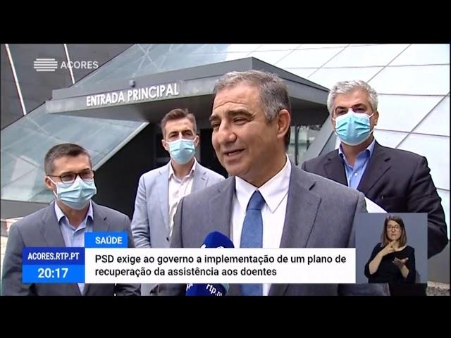 """Bolieiro diz que é """"urgente"""" criar plano de retoma da assistência a doentes"""