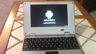 7 Inch Mini Laptop with Android