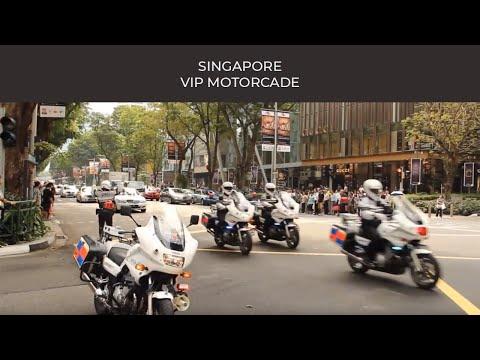 SINGAPORE VIP Motorcade