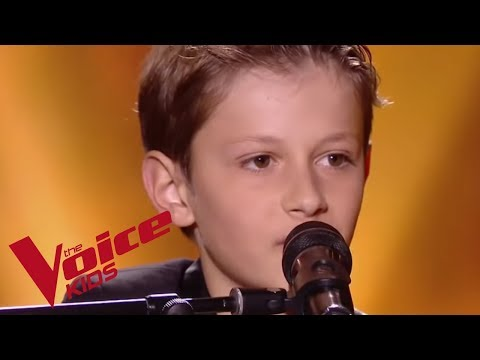 Odelaf – Le café | Mano | The Voice Kids France 2018 | Blind Audition