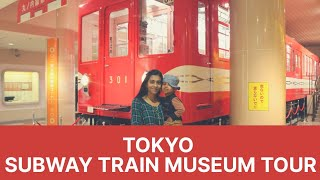 Tokyo Subway Train Museum Tour   Our experience driving a subway train   Subway train in Japan