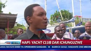 Mkuu wa Wilaya ya Kinondoni Ally Hapi aja juu, akagua Yacht Club
