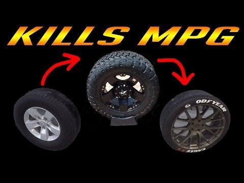 FUEL ECONOMY - 5 Reasons Your Wheels KILL MPG