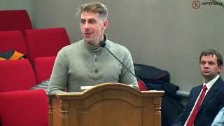 Найди волну на которой говорит Господь – Иван Олейник Костополь, проповедь, Карьерная 44