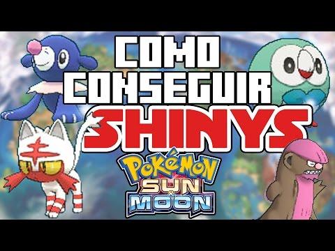 CÓMO CONSEGUIR SHINY EN POKÉMON SOL y LUNA - MUY FÁCIL!