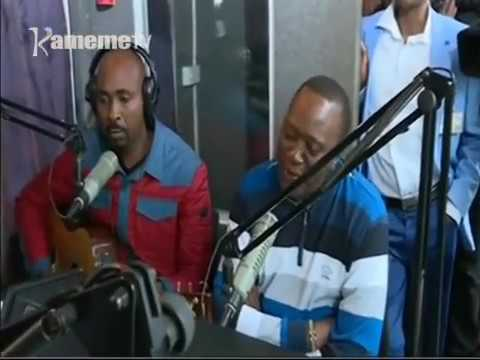 President Uhuru &man nyari