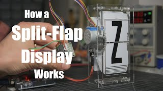How a Split-Flap Display Works