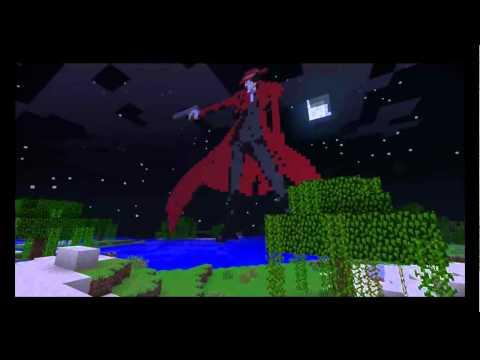 Pixel Art Minecraft | Nosferatu Alucard | Hellsing