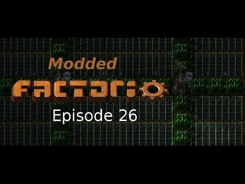 Modded Factorio Ep 26 - Placing Solar and Electric Furnace Set Up