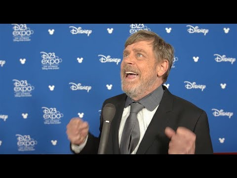 INTERVIEW: Mark Hamill talks Disney Legend award, Carrie Fisher at D23 Expo 2017