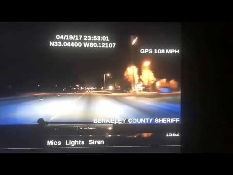 Berkeley County Sheriff's Office Pursuit On April 19, 2017