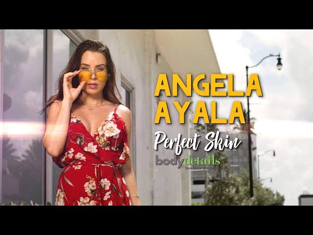 Laser Skin Rejuvenation Treatment  | Perfect Skin | Angela Ayala | Body Details