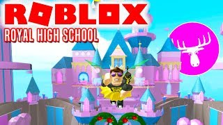 BACK IN SCHOOL WITH DME! -Roblox Royale High School english
