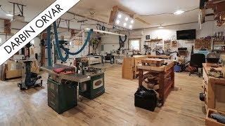 Amazing Transformation from Garage to Creative Workshop