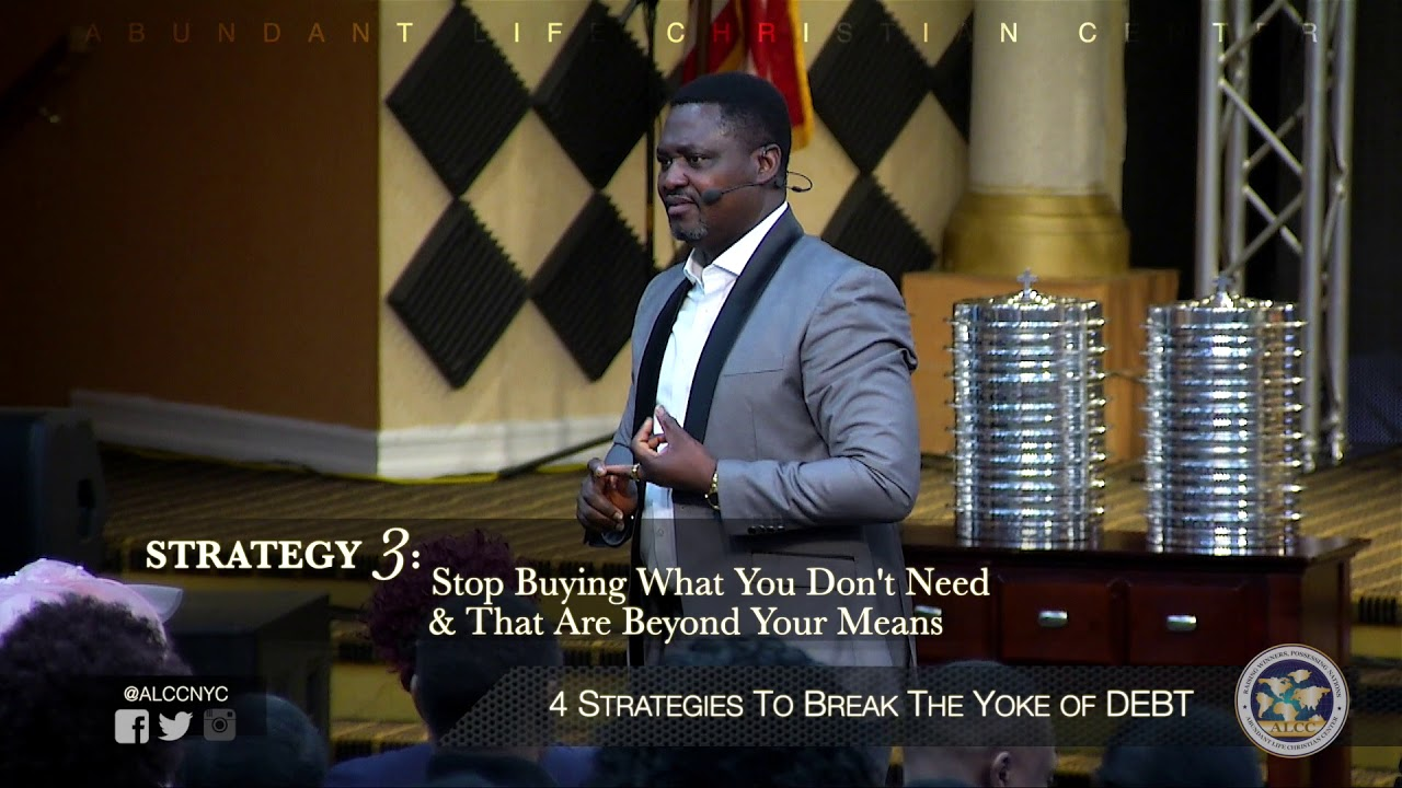 4 Strategies  To Break The Yoke of Debt | Festus Adeyeye