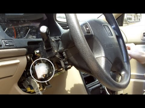 Honda Accord Ignition Switch Replacement - YouTube