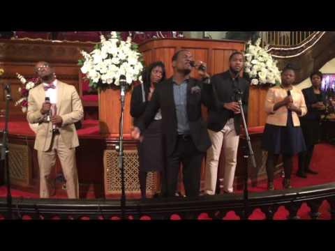 Roosevelt Jean Noel  Hallelujah and Mwen Bezwen'w  live in Brooklyn NY Jan 17, 2016