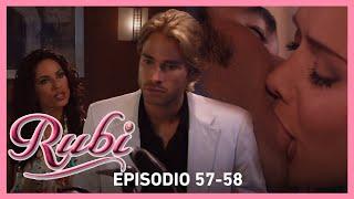 Rubí: Rubí le pide el divorcio a Héctor y Alejandro se compromete con Sonia | Capítulos 57-58