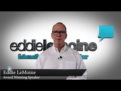 Eddie LeMoine Canada's Top Motivational Speaker