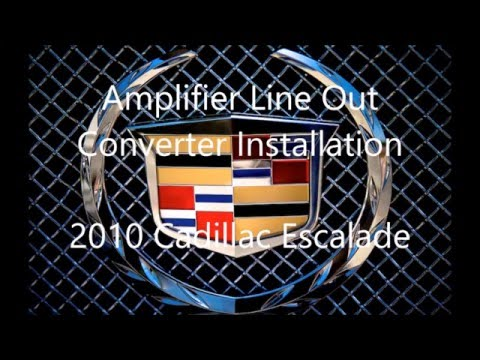 hqdefault 2010 (2007 2014) cadillac escalade amplifier wiring install using Cadillac Escalade Tail Lights at nearapp.co