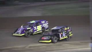 I.M.C.A. Heat Race #3 at Crystal Motor Speedway, Michigan on 06-22-2019!