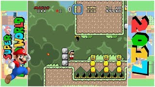 Mario's Awesome Journey (D) | Super Mario World Hack