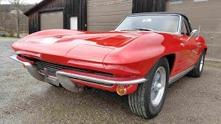 1964 Chevy Corvette Convertible 327ci 300HP