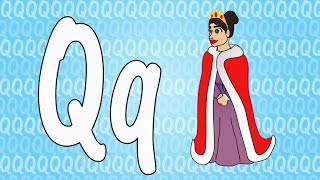 Letter Q Song for Kids - Words that Start with Q - Animals that Start with Q
