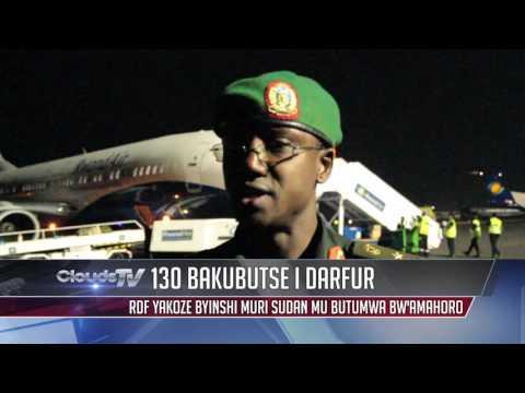 Clouds Tonight: Ingabo z'u Rwanda 130 zasize zanditse amateka i Darfur