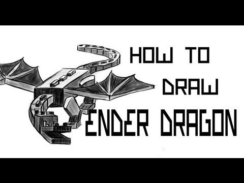 Ep. 86 How to draw Ender Dragon
