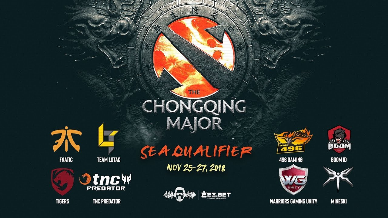 [DOTA 2 LIVE PH] TnC Predator VS 496 Gaming  Bo3  Chongqing Major Southeast Asia Qualifier