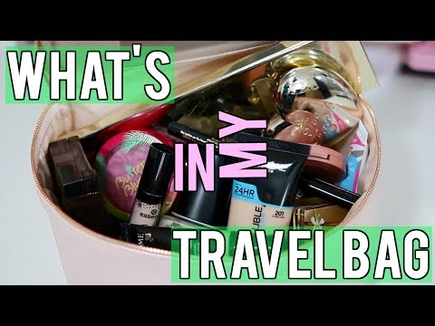WHAT'S IN MY MAKEUP TRAVEL BAG - LAS VEGAS EDITION