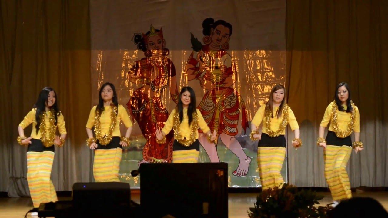 New York Myanmar Thingyan Dance Performed by New York City ...